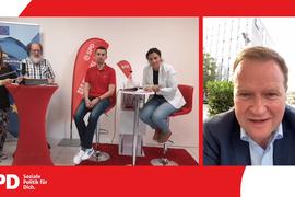 Videokonferenz der SPD