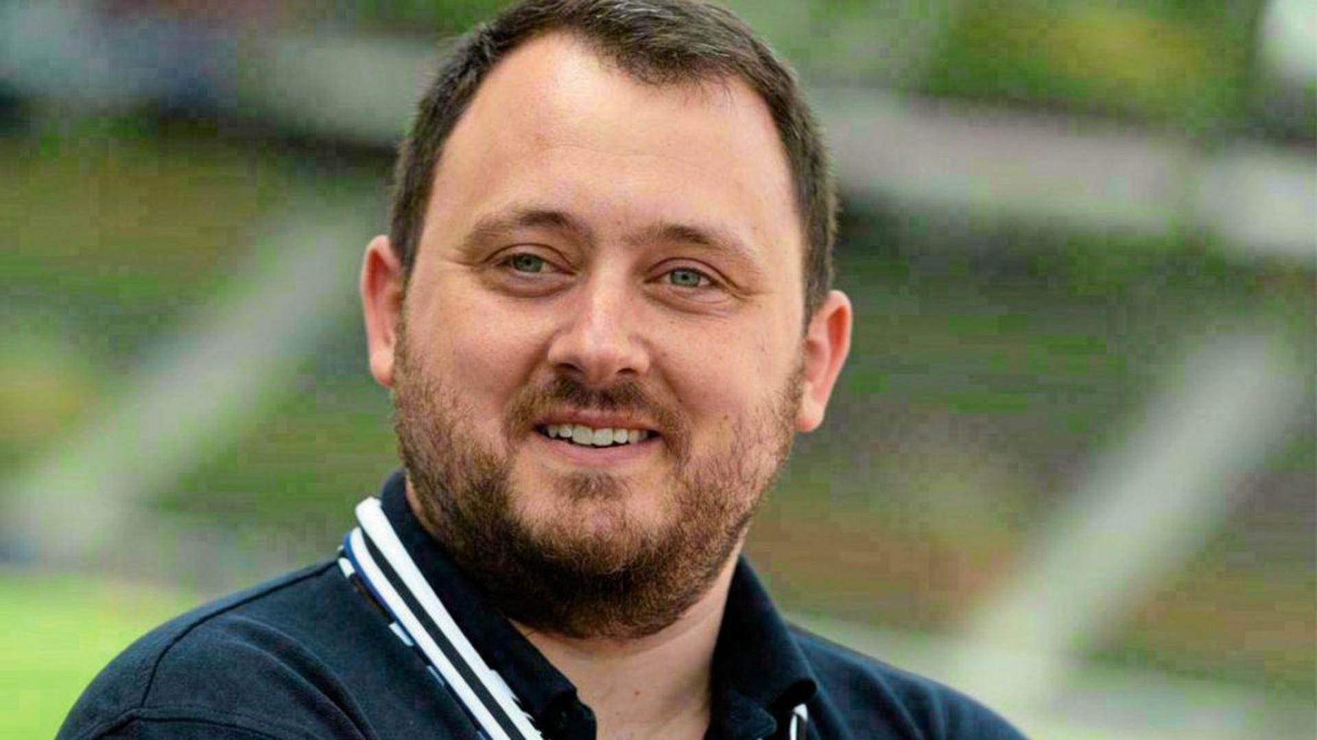 Marco Fuchs, 1. Vorsitzender der Supporters Karlsruhe.