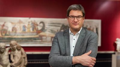 Museumsdirektor in seiner Geburtsstadt Karlsruhe zu sein: Das ist ein wahrer Traumjob für Eckart Köhne, den Chef des Badischen Landesmuseums im Schloss.