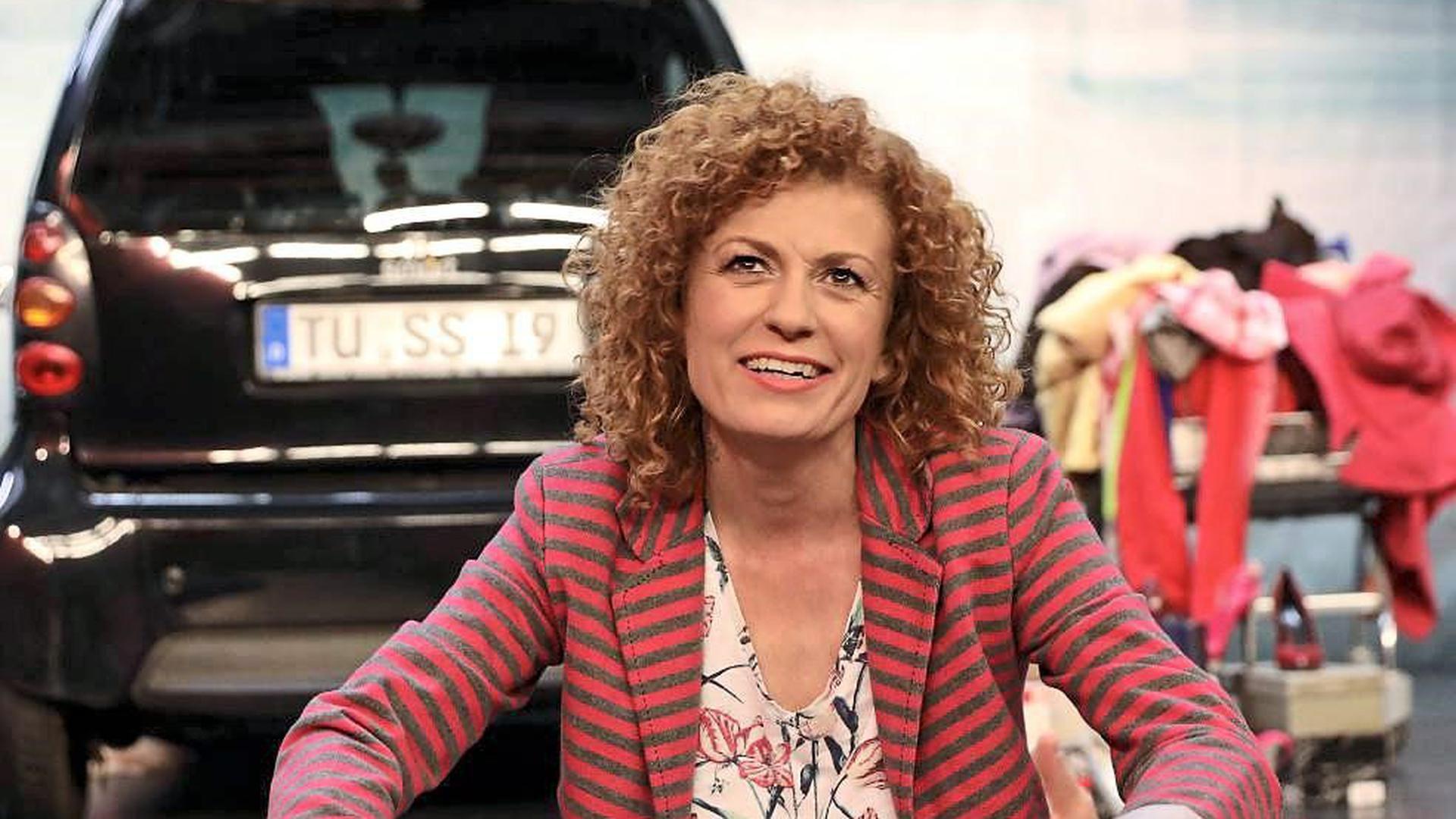 """Bekanntes Gesicht: Lucy Diakovska spielt auf der Kammertheater-Bühne im Stück """"Tussipark"""" erstmals in einer Komödie mit."""