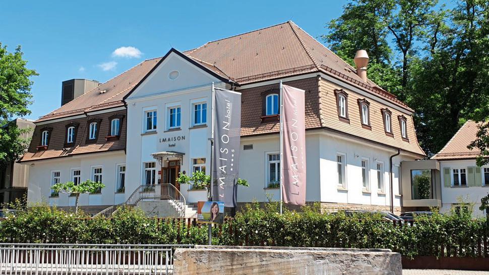 """das Hotel """"La Maison"""" in Saarlouis im Saarland"""