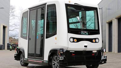 Bald sind solche autonomen Minibusse in Karlsruhe im Einsatz