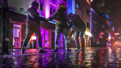 ZEG Karlsruhe Brunnenstraße Drogenfahndung Polizei Rotlichtmilieu
