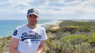 Holger Lierse in Australien.