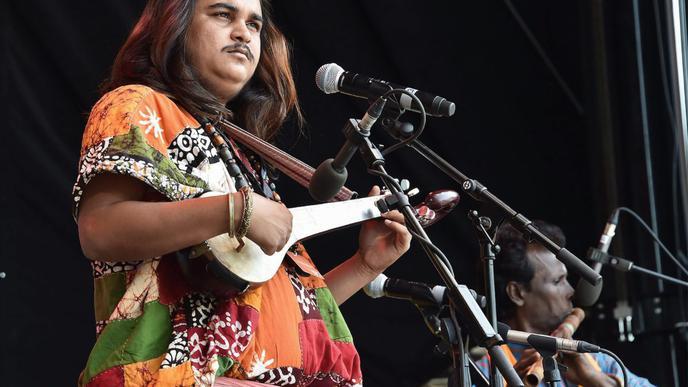 Bühnenprogramm von Tanz bis Musik zeigte die vielfältige indische Kultur.