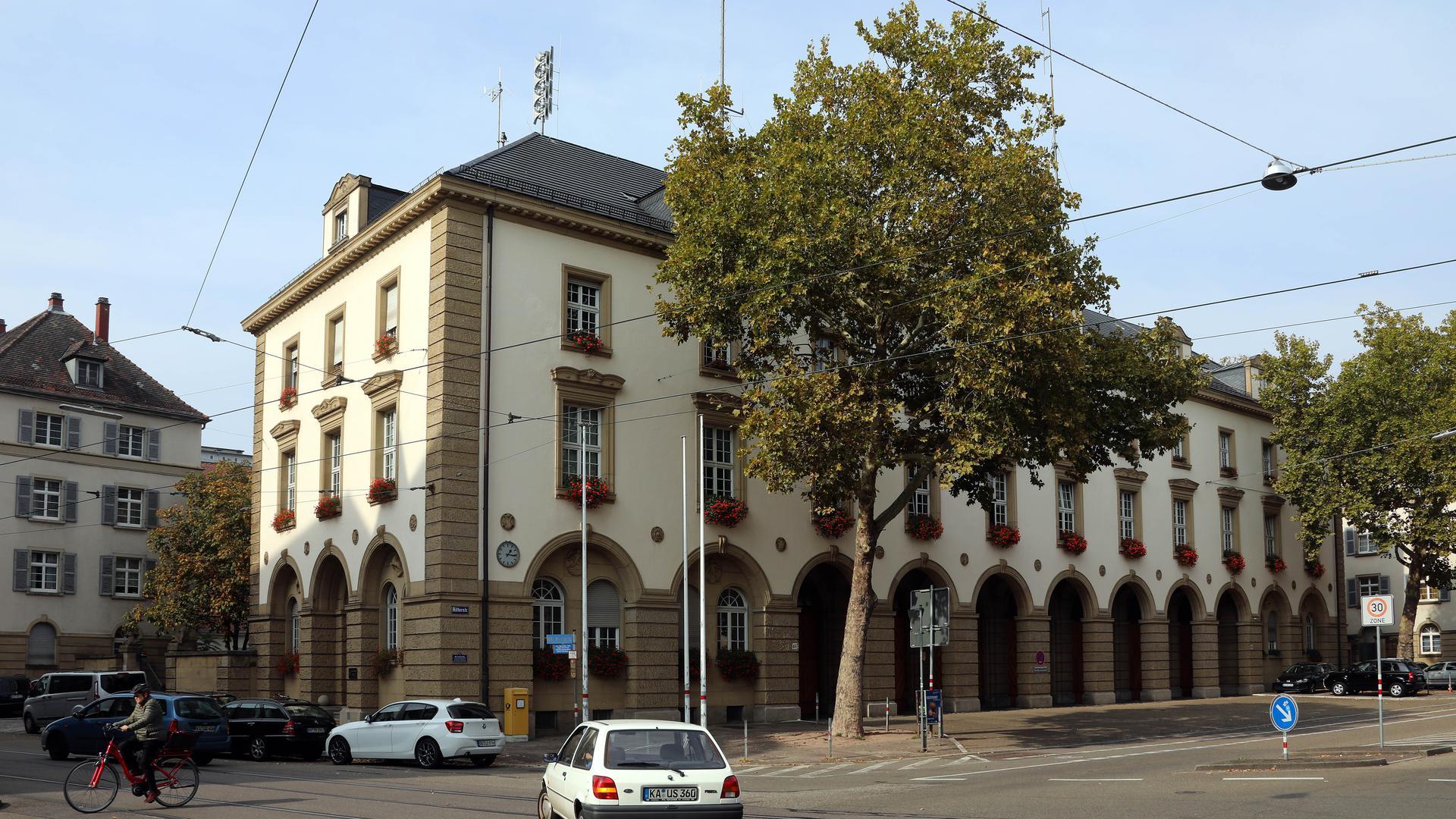 Hauptfeuerwache in der Ritterstraße