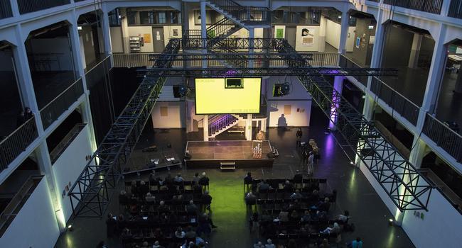 Eröffnung Wintersemester Hochschule für Gestaltung Karlsruhe (HfG)