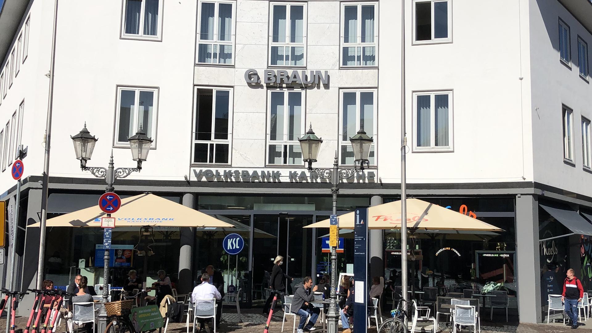 Neue Filiale am Rondellplatz.