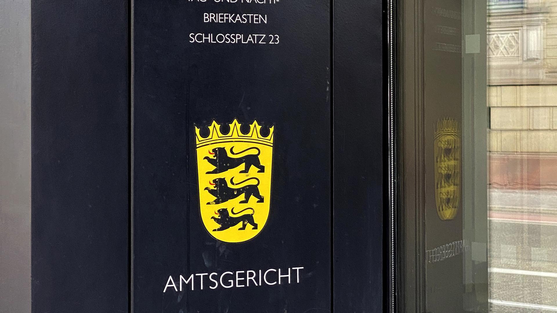 Der Tag- und Nachtbriefkasten des Amtsgericht Karlsruhe. (Symbolbild)