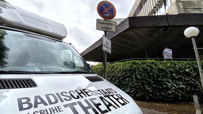 Theater Gebäude Auto