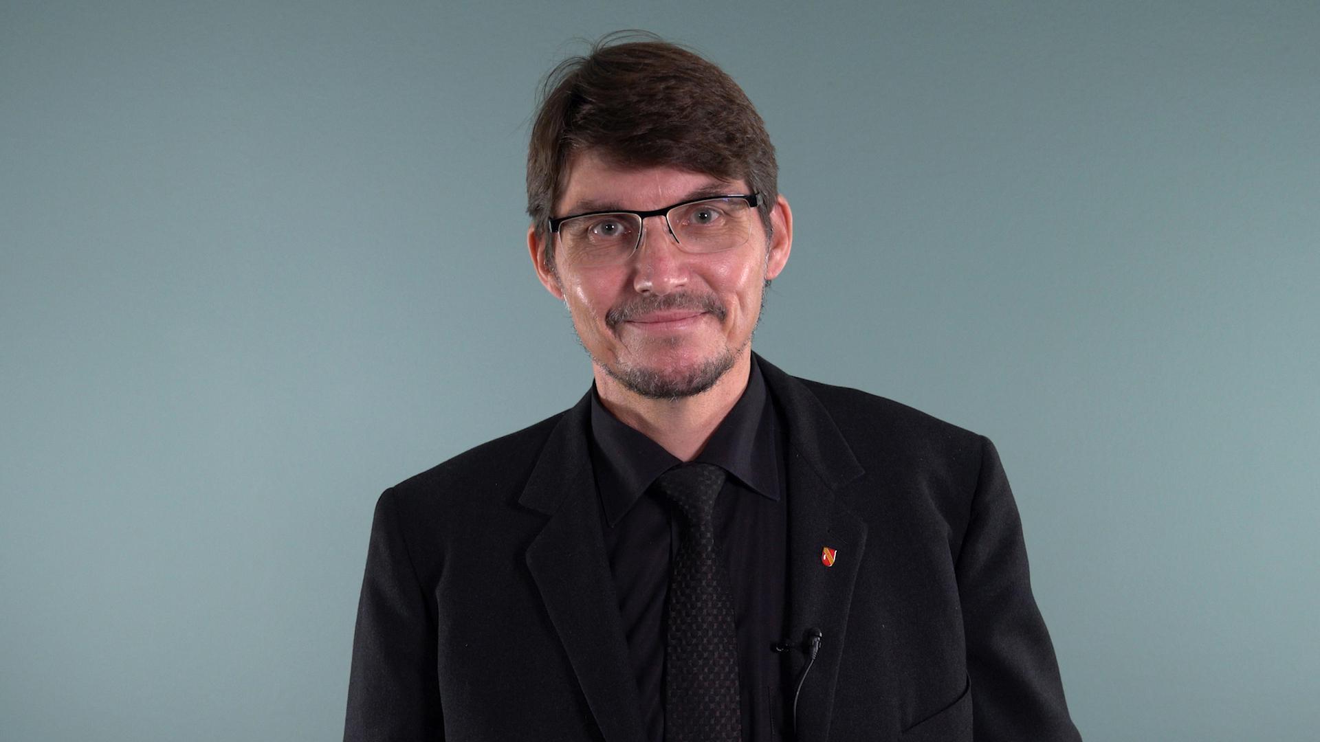 Paul Schmidt ist Kandidat der AfD.