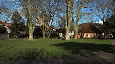 Alter Friedhof in Durlach.