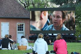 Picknick-Kino in Durlach.