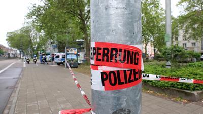 Großer Polizeieinsatz in der Wolfartsweierer Straße