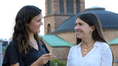 Zwei Frauen, Karlsruhe, Schmuck
