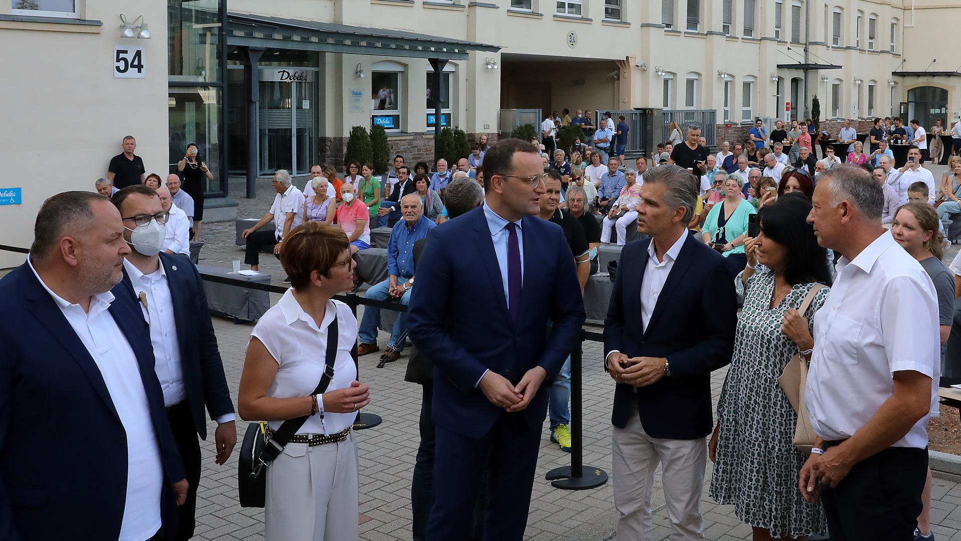 Spahn-Besuch in Durlach