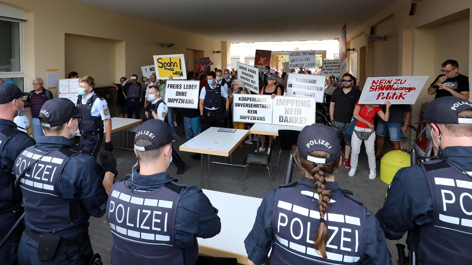 Spahn-Besuch Durlach