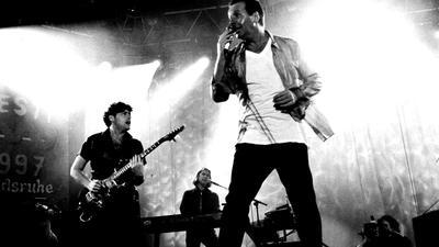 Simple Minds auf der Bühne von Das Fest