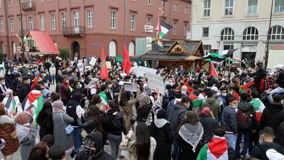 Demonstration Marktplatz