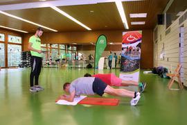 sportliche Betätigung - Liegestütze