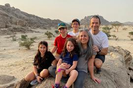Familie Finkbeiner lebt in Saudi-Arabien