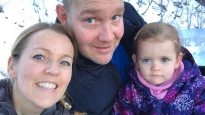 Familie Schneider in der Schweiz