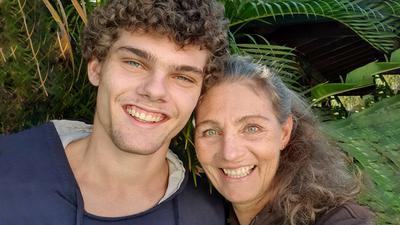 Gabi Reha in Brasilien