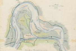 Plan Rheinbegradigung
