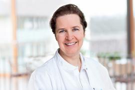Prof. Dr. Daniela Hornung, Direktorin der Klinik für Gynäkologie und Geburtshilfe in den Karlsruher ViDia Kliniken am Standort Diakonissenkrankenhaus