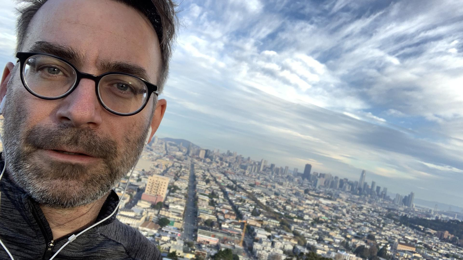 Frank Weigel in San Francisco.