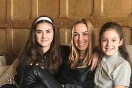 Gaby, Allegra und Romy Jooss.