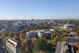 Karlsruhe von oben