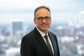 Knut Bühler, Erster Landesbeamter und Gesundheitsdezernent des Landkreises Karlsruhe.