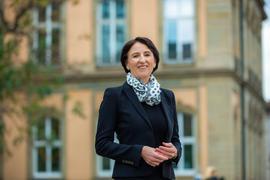 Ute Leidig hat das Erstmandat im Wahlkreis Karlsruhe-Ost errungen.