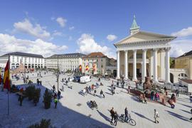 Die Karlsruher haben ihren Marktplatz zurück.