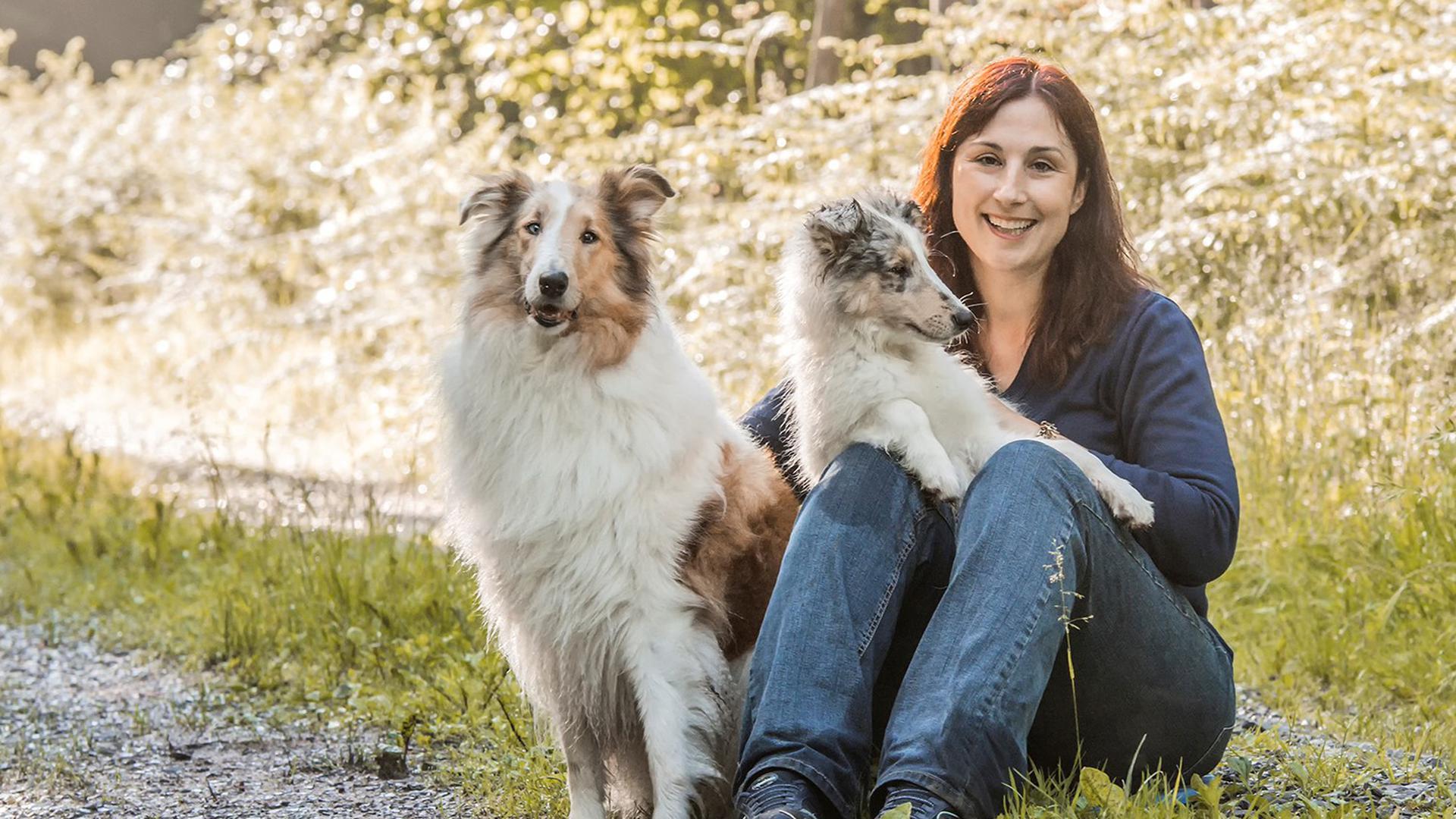 Weiß von der positiven Wirkung von Hunden: Christina Merz besuchte vor der Corona-Pandemie mit ihren Collies regelmäßig Alten- und Pflegeheim.