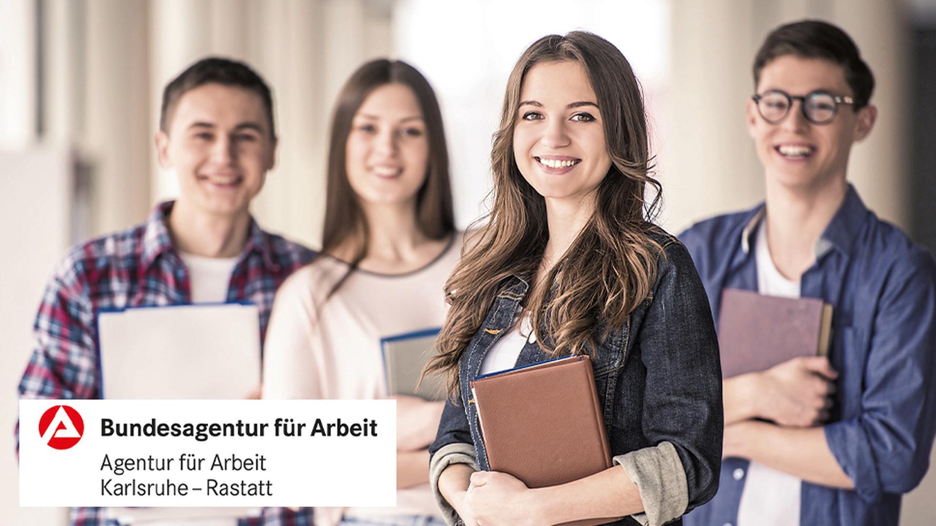 Ausbildung oder Studium bei der Bundesagentur für Arbeit Karlsruhe-Rastatt