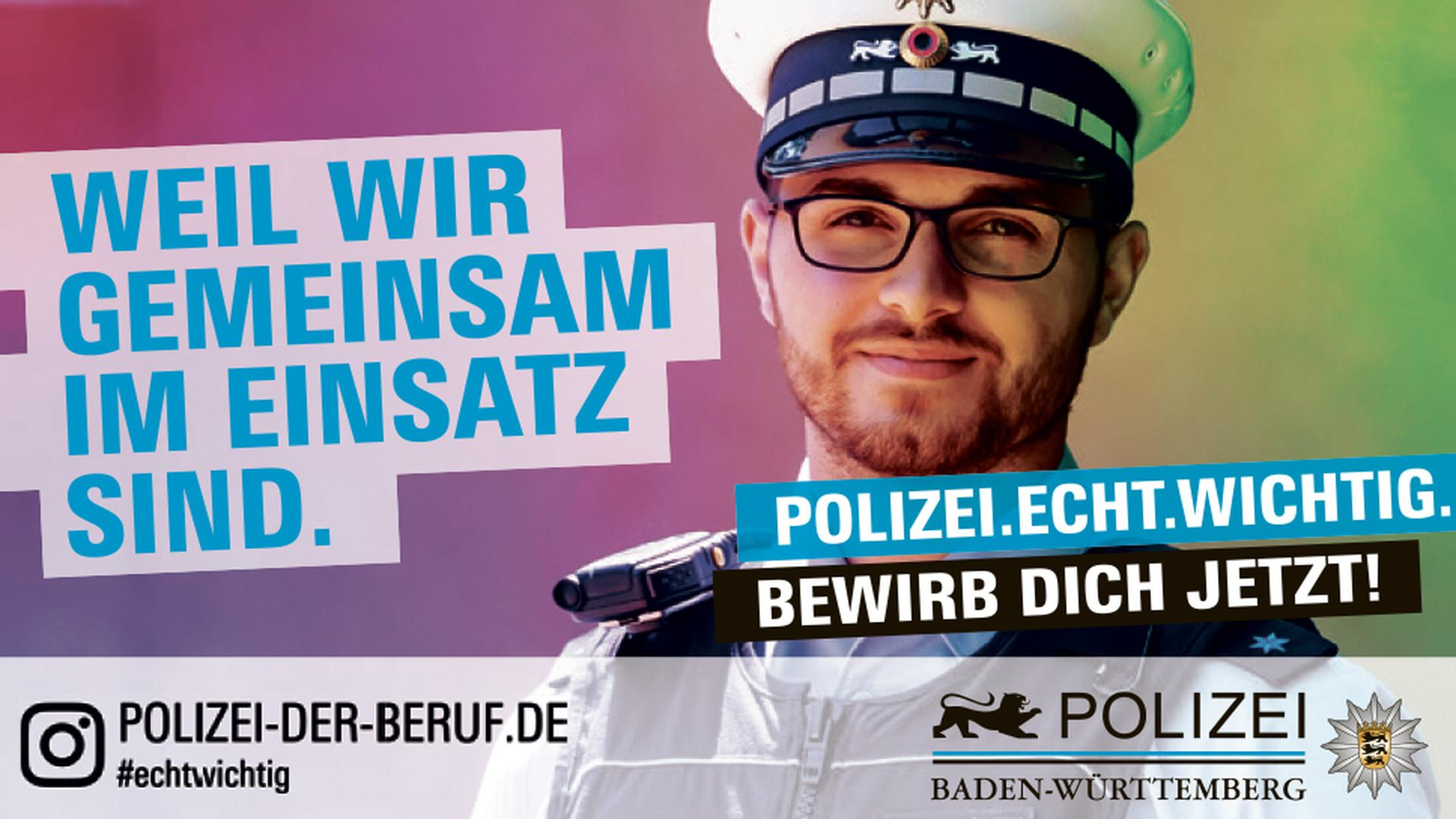 Ausbildung oder Studium bei der Polizei Baden-Württemberg