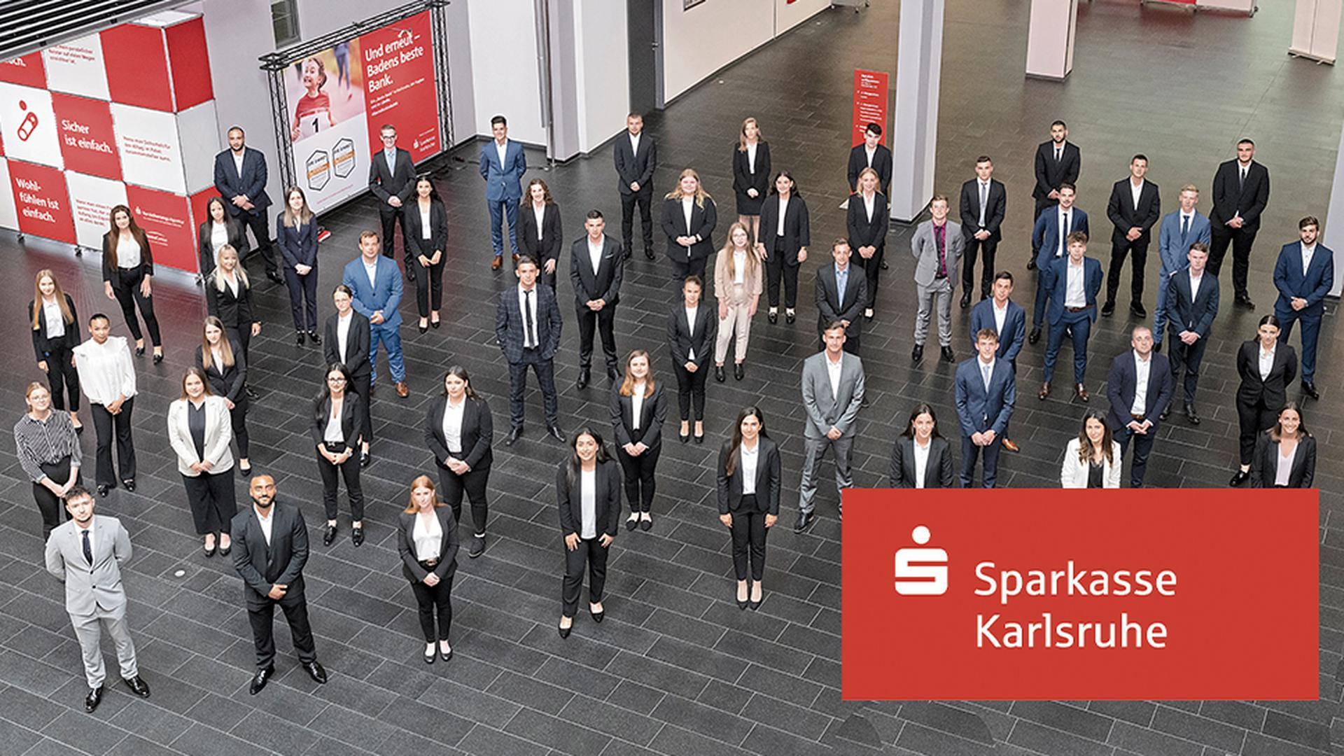 Ausbildung oder Studium bei der Sparkasse Karlsruhe