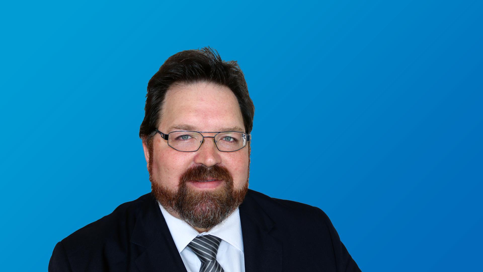 Rene Rotzinger, AfD-Bundestagkandidat für den Wahlkreis Karlsruhe-Land