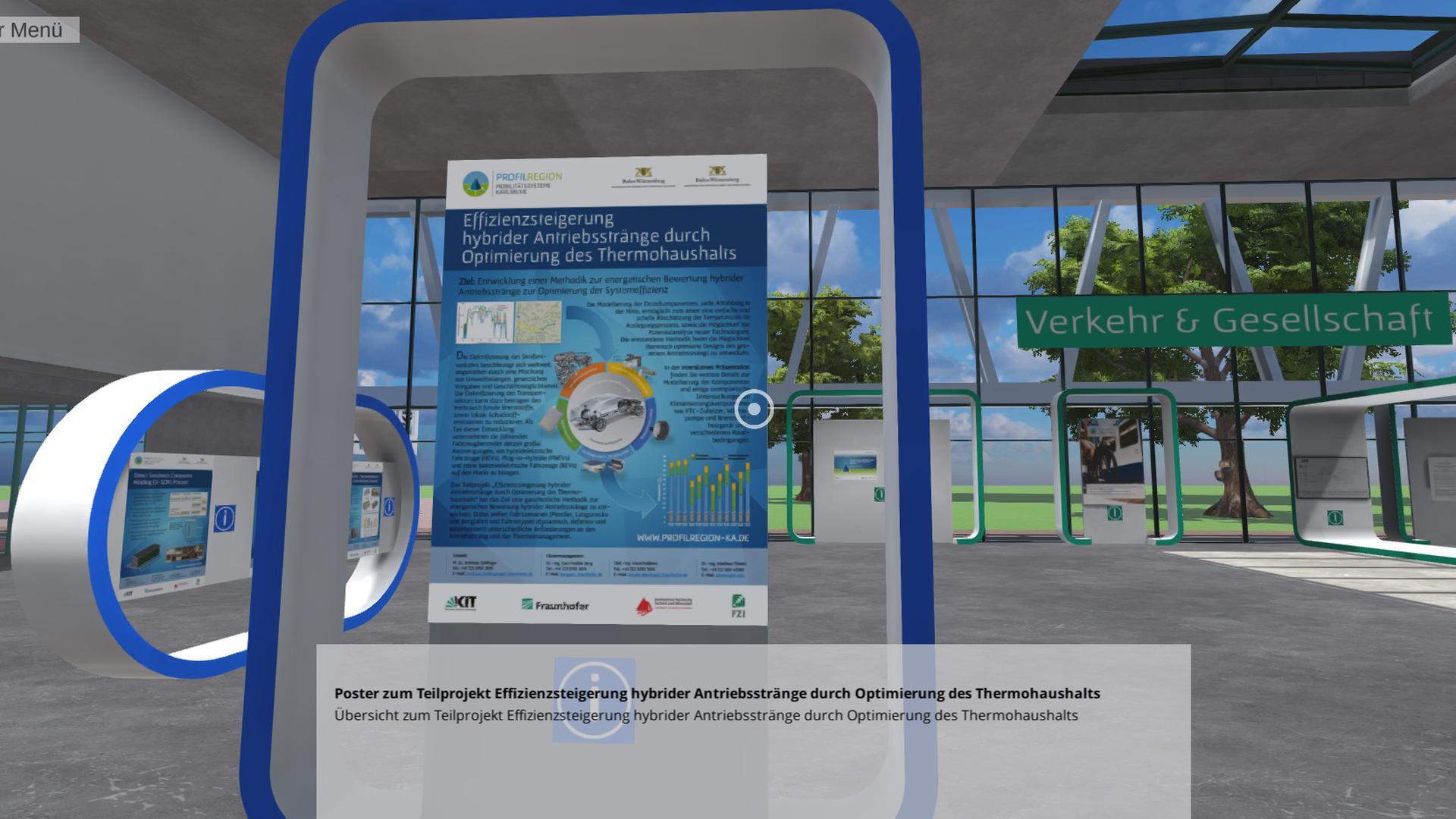 Videos, Präsentationen und Vorträge informieren über die bisherigen wissenschaftlichen Ergebnisse des Forschungsverbunds Leistungszentrum Profilregion Mobilitätssysteme Karlsruhe.