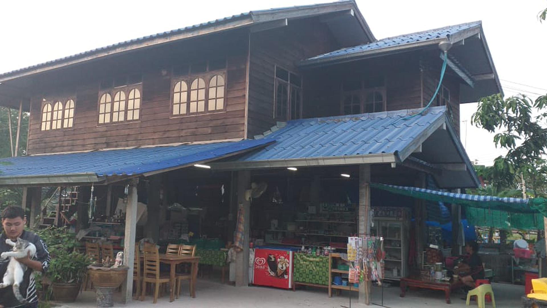 Das neue Thailokal im Norden Thailands von außen.