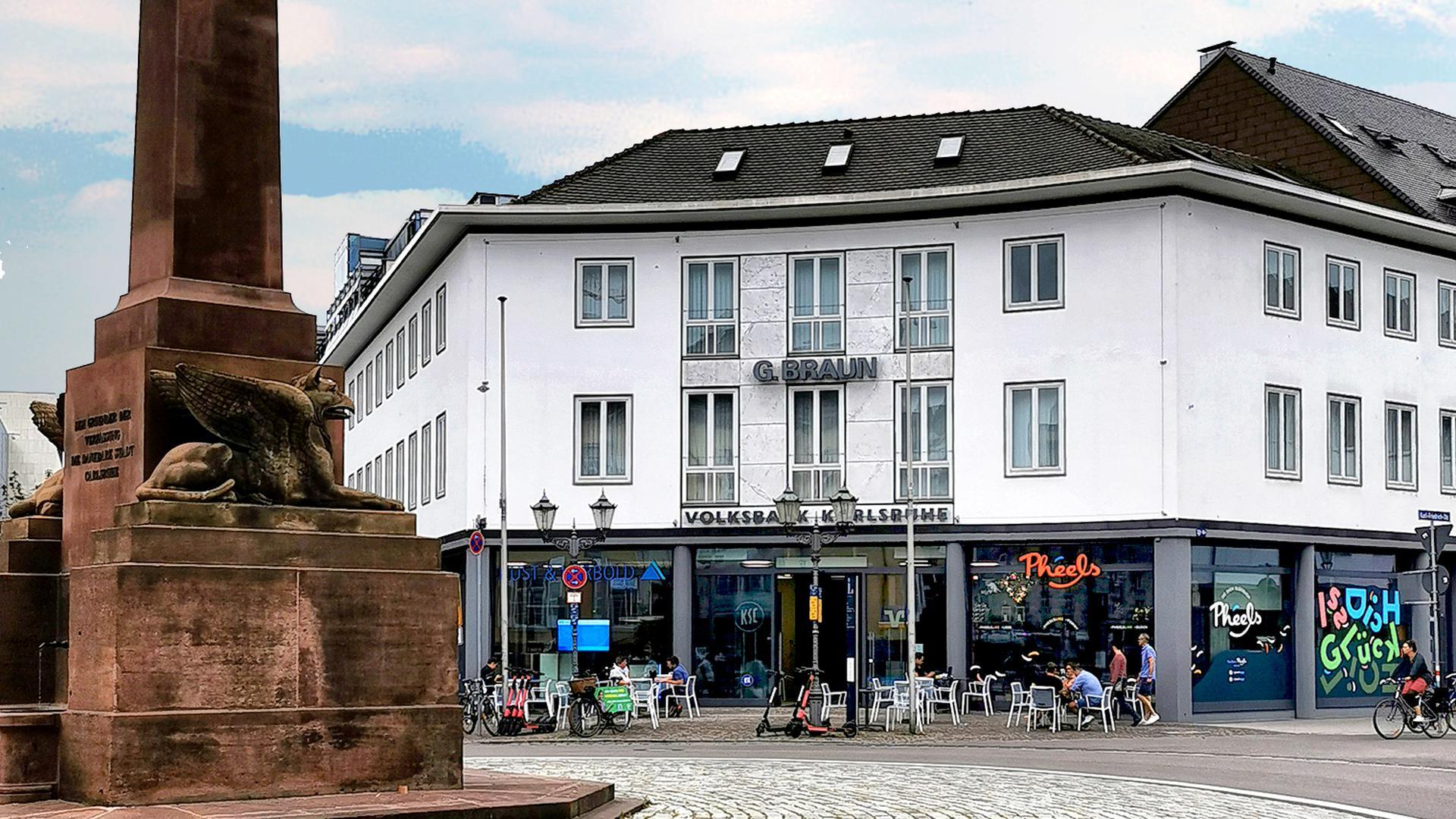 Filiale mit Rondellplatz.