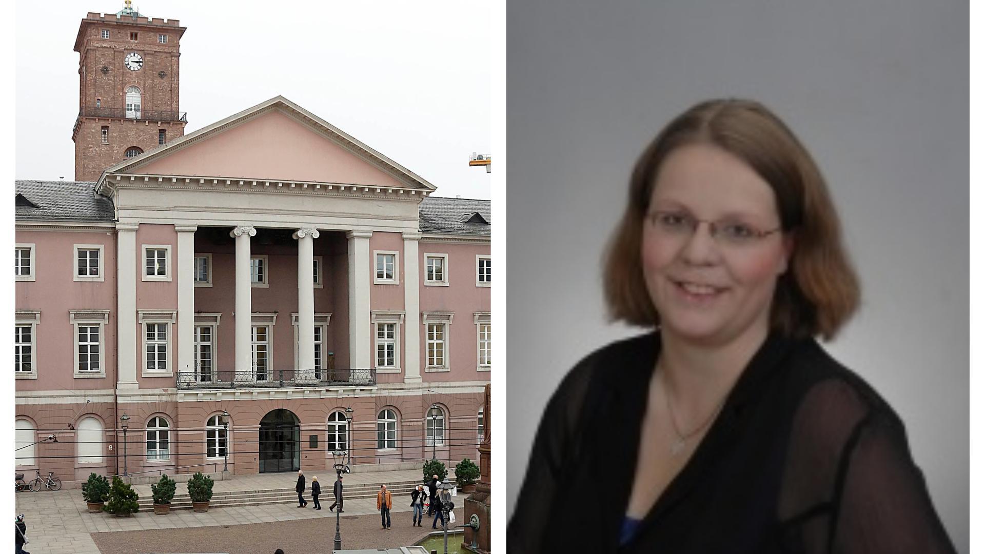 Vanessa Schulz will ins Karlsruher Rathaus einziehen - als Oberbürgermeisterin