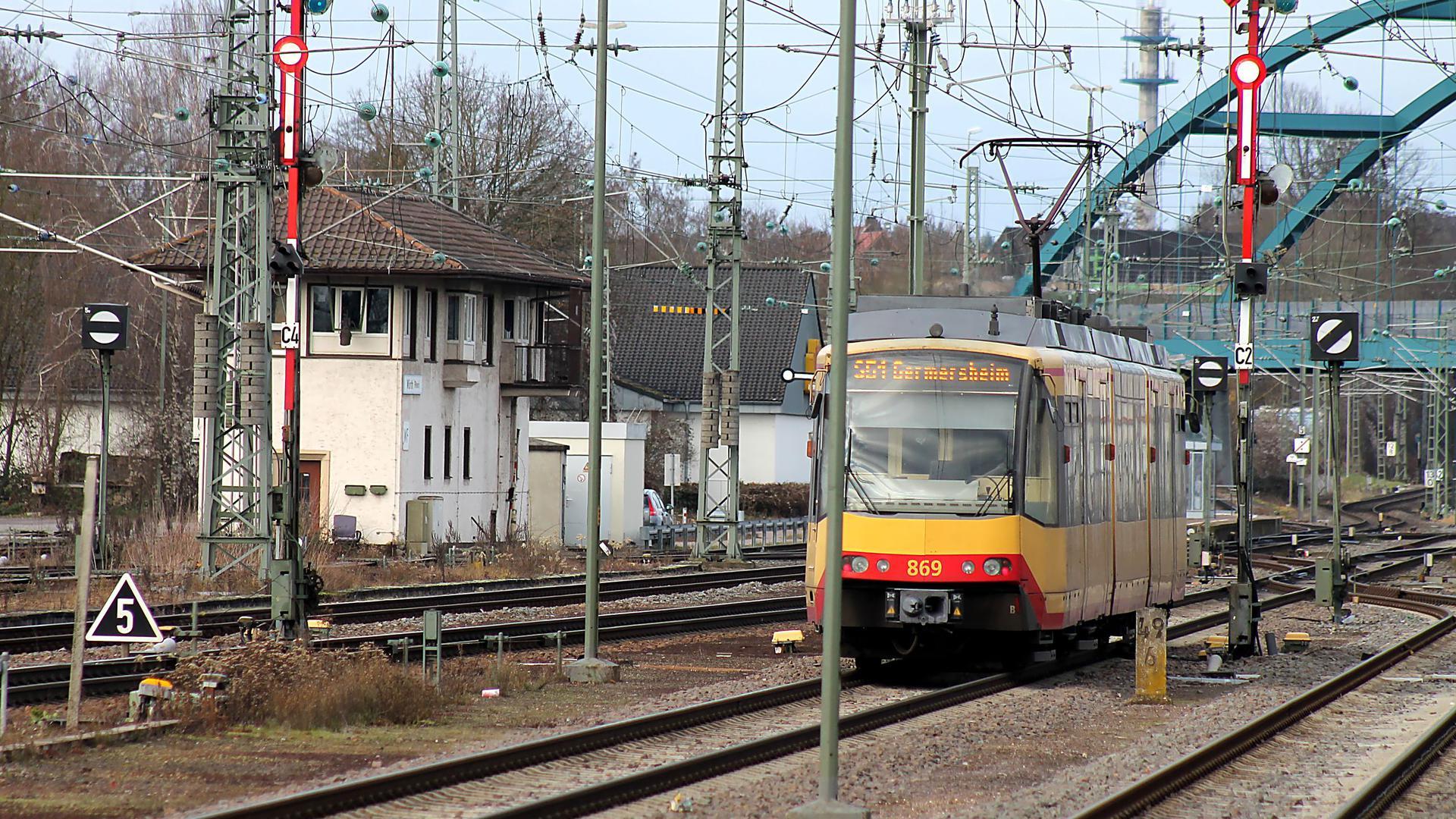 Stadtbahn + Stellwerk