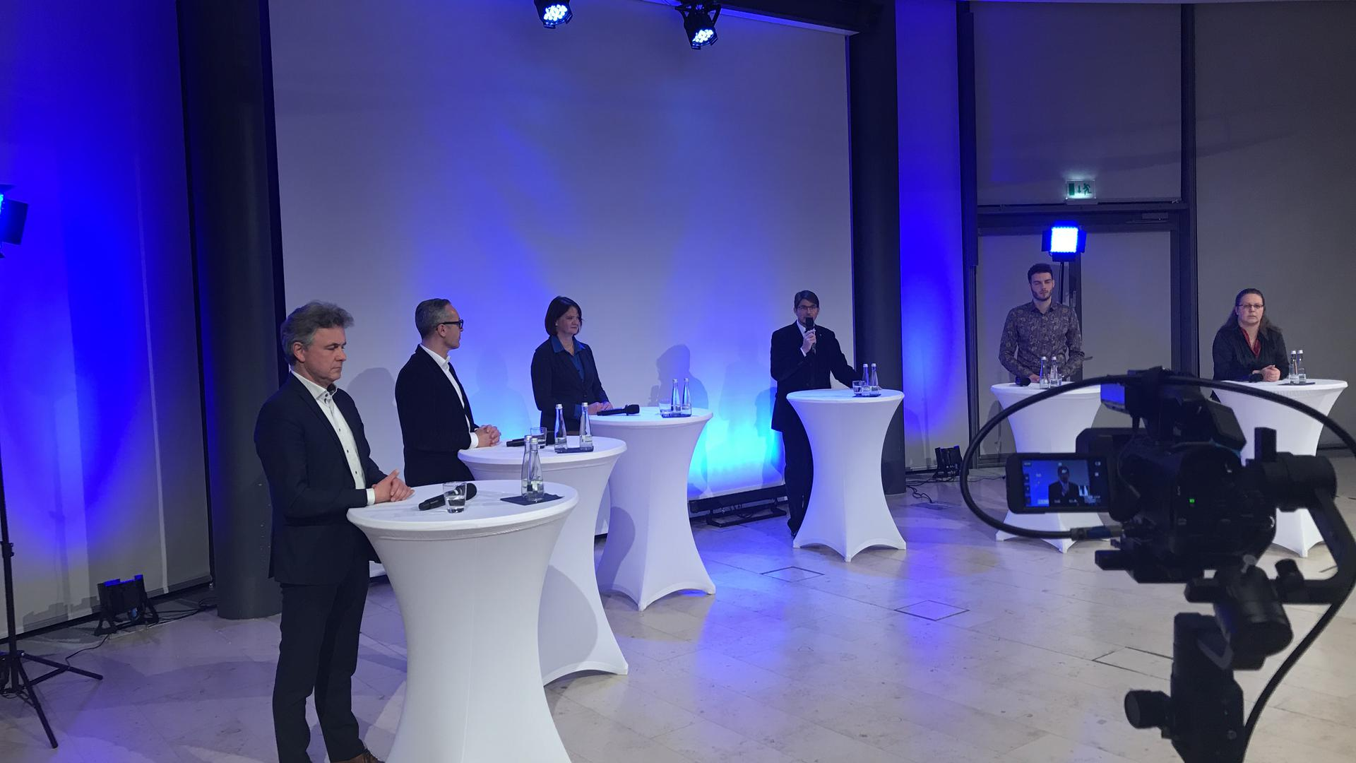 Debatte OB-Kandidaten 2020
