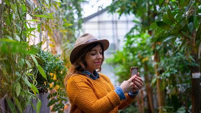 Der Botanische Garten des KIT ist nur einer der Instagram-Motiv-Geheimtipps in der Region.
