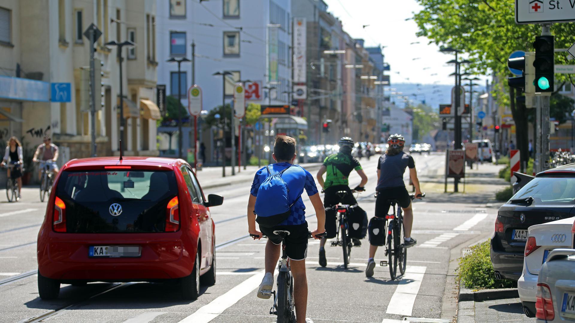 Lobbyarbeit für Radfahrer: Der Karlsruher ADFC ist auch für den Landesverband in Stuttgart wichtig. Von dort kommt Unterstützung in der aktuellen Krise.