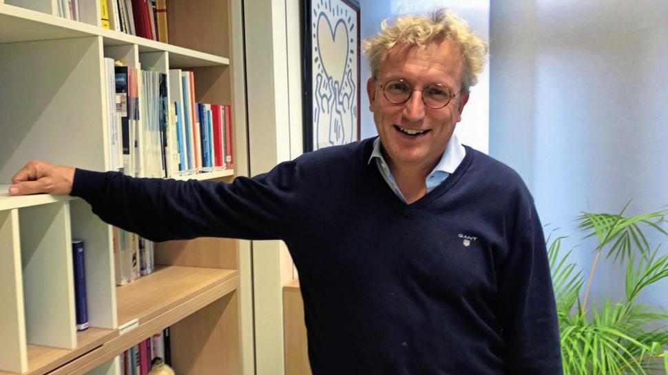 Er selbst sei noch keinen Marathon gelaufen, erzählt Alexander Woll, Leiter des Instituts für Sport und Sportwissenschaft am KIT Karlsruhe.