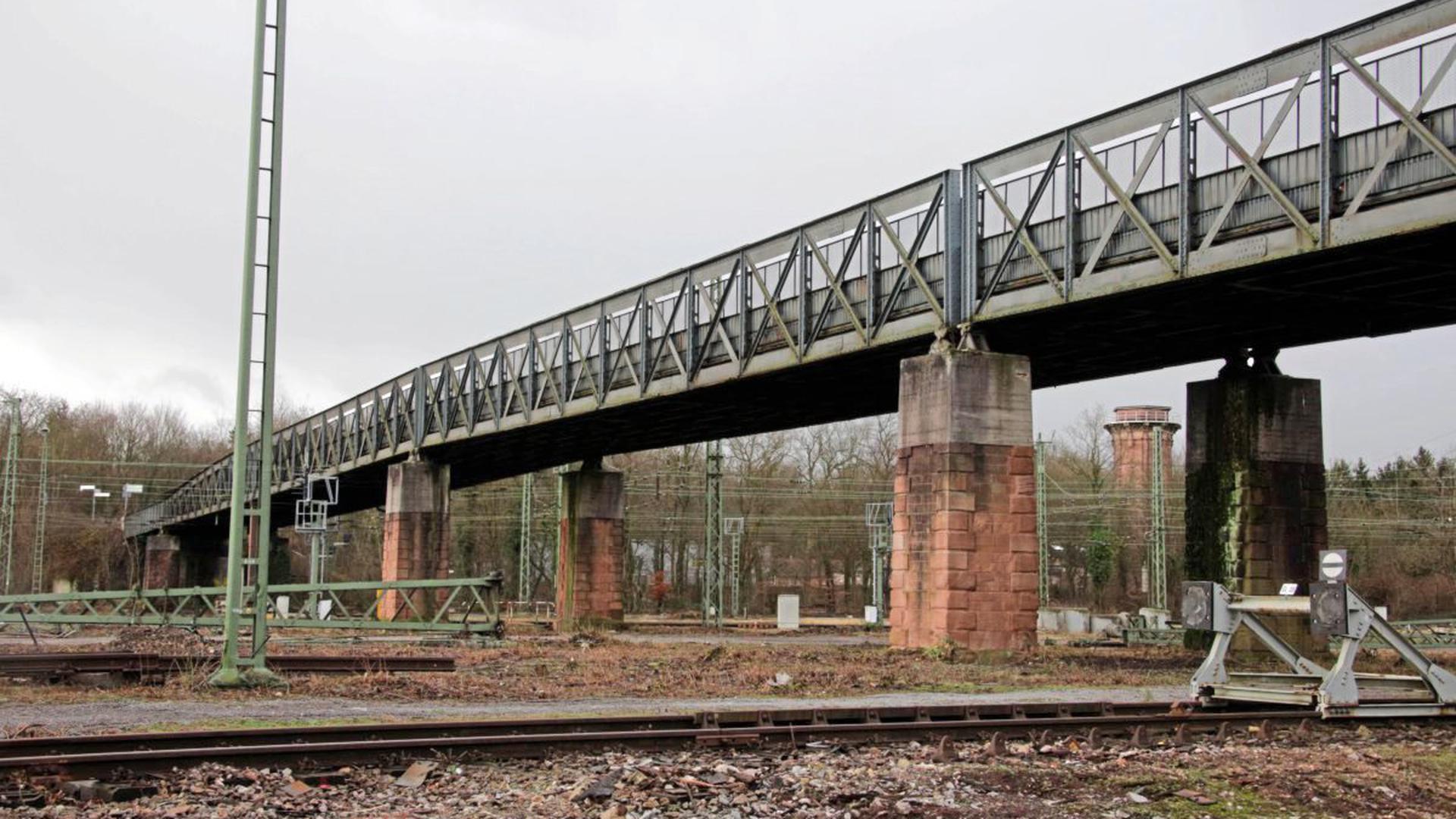 Wasserwerkbrücke Karlsruhe